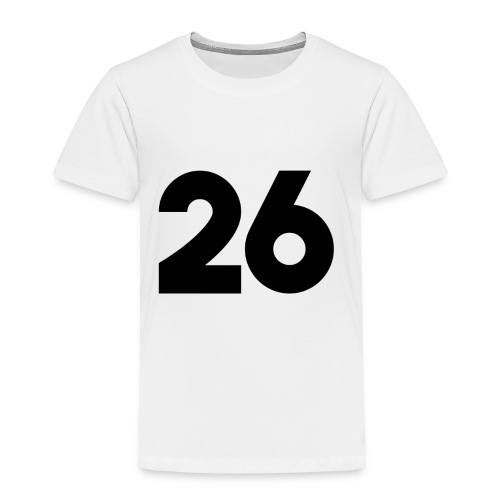 Main 26 logo - Toddler Premium T-Shirt