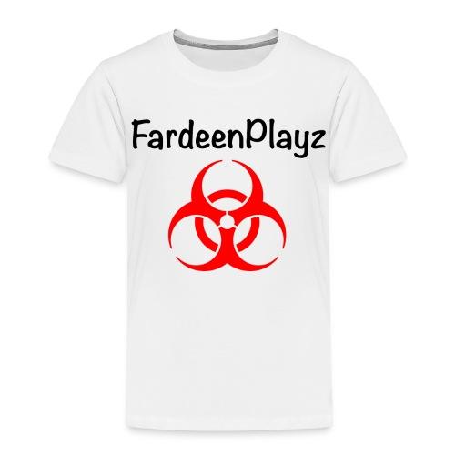 FardeenPlayz At Top W/ Logo - Toddler Premium T-Shirt
