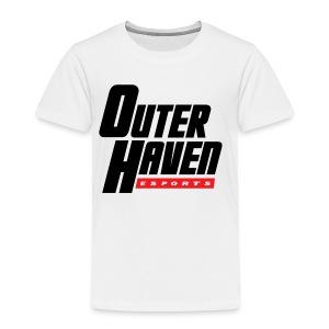 Outer Haven Black Large Logo - Toddler Premium T-Shirt