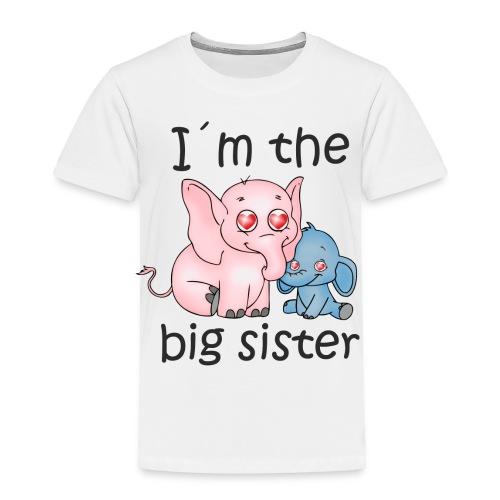 I'm the Big Sister B - Toddler Premium T-Shirt