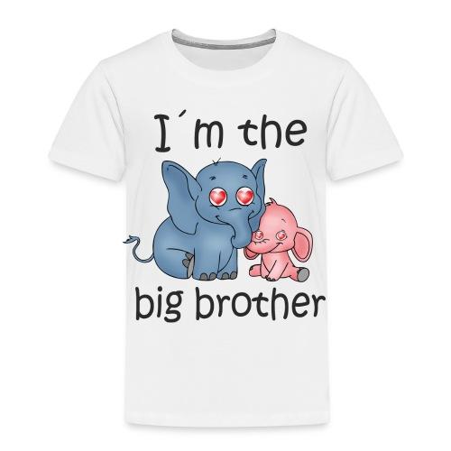 I'm the Big Brother B - Toddler Premium T-Shirt