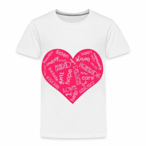 Friends Not Bullies - Toddler Premium T-Shirt