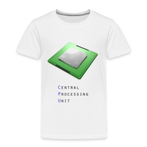 CPU - Central Processing Unit - Toddler Premium T-Shirt