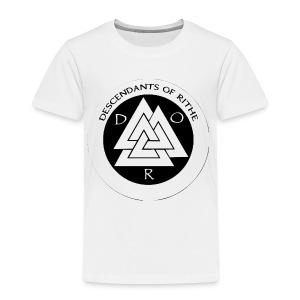 D.O.R WHITE - Toddler Premium T-Shirt