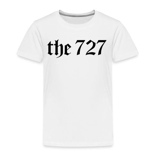 The 727 in Black Lettering - Toddler Premium T-Shirt