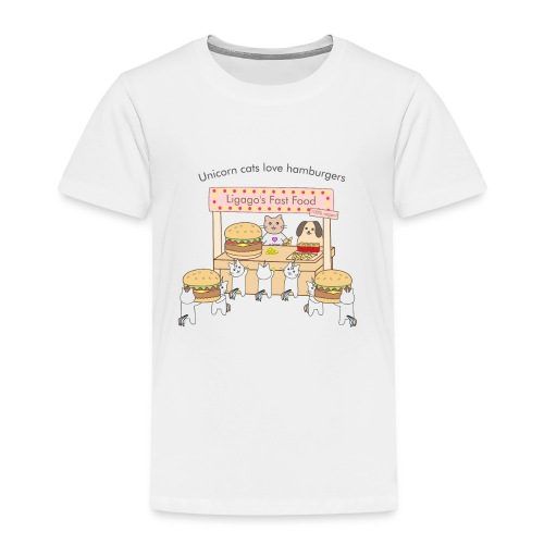 At the market - Toddler Premium T-Shirt