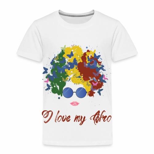 new afro - Toddler Premium T-Shirt