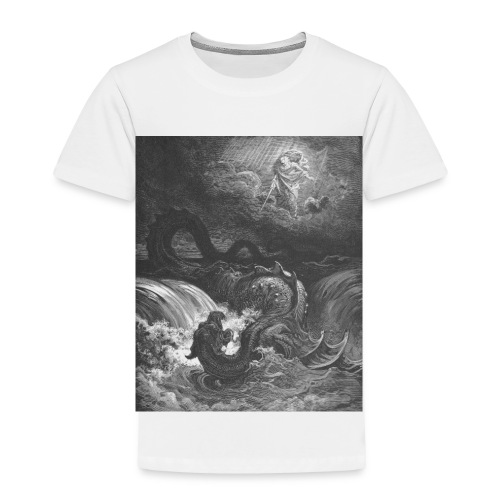 God Smites the Leviathan - Toddler Premium T-Shirt