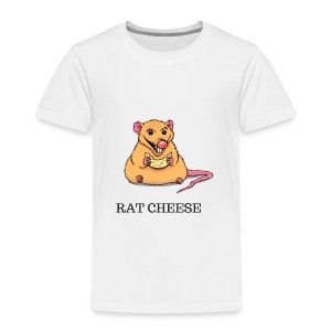 RAT CHEESEEE - Toddler Premium T-Shirt