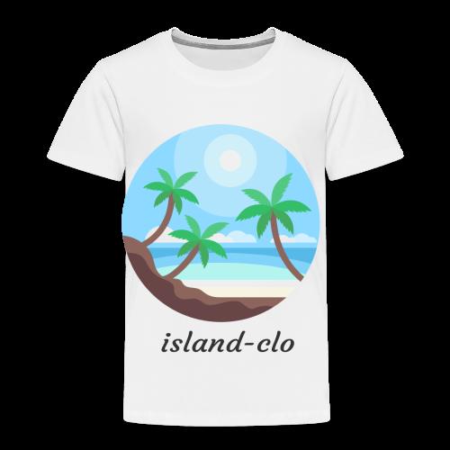 Island clothing - Toddler Premium T-Shirt