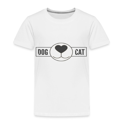 Funny T-shirt For those who love dogs and cats - Toddler Premium T-Shirt