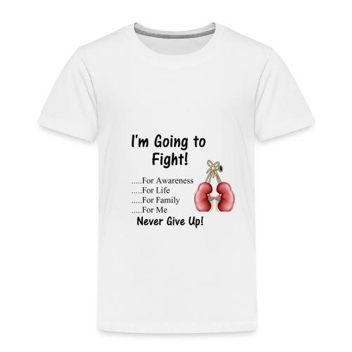 Knock Out Kidney Disease - Toddler Premium T-Shirt