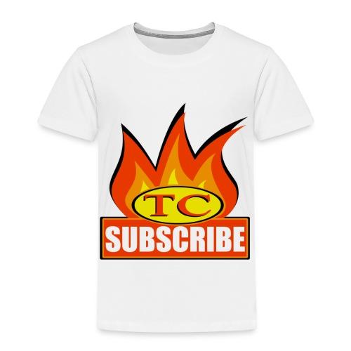 Torture Chamber Subscribe Logo - Toddler Premium T-Shirt