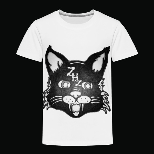 Lunar Cat - Toddler Premium T-Shirt