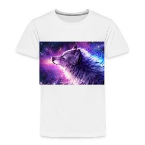 Galaxy Wolf - Toddler Premium T-Shirt