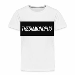 TheDiamondPug Rectangle - Toddler Premium T-Shirt