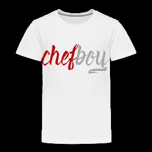 Chefboy Red/Grey - Toddler Premium T-Shirt