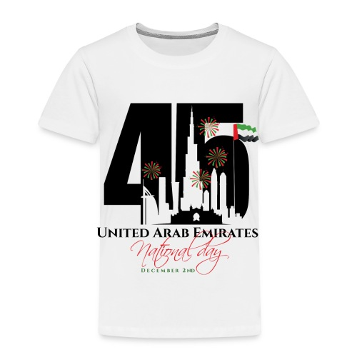 UAE 45 National Union Day - Toddler Premium T-Shirt