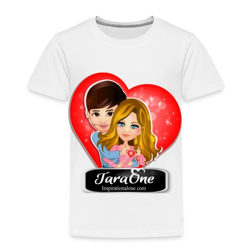 Love Heart Shirts - Toddler Premium T-Shirt