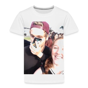 Luke Hemmings with a phone in his face - Toddler Premium T-Shirt