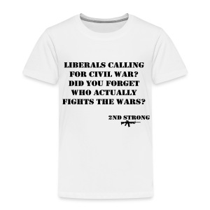 Civil War - Toddler Premium T-Shirt