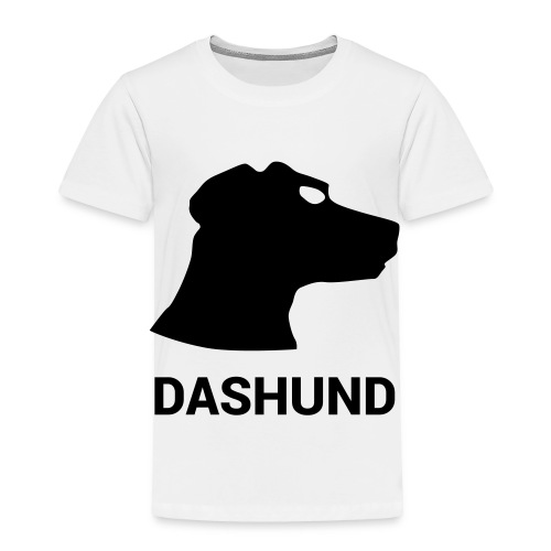 DASHUND - Toddler Premium T-Shirt