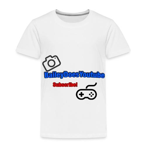 BaileyDoesYoutube - Toddler Premium T-Shirt