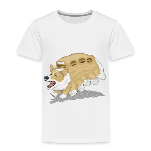 Corgbus: Jump inside for a Very Furry Ride. - Toddler Premium T-Shirt
