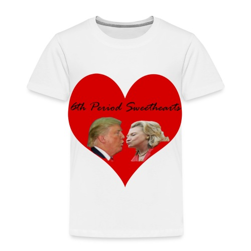 6th Period Sweethearts Government Mr Henry - Toddler Premium T-Shirt