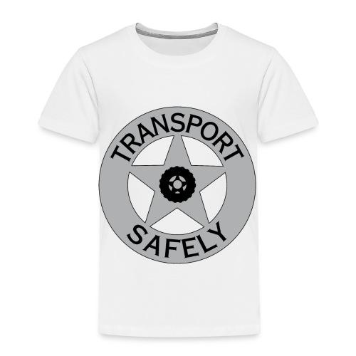 Transport Safely Logo - Toddler Premium T-Shirt