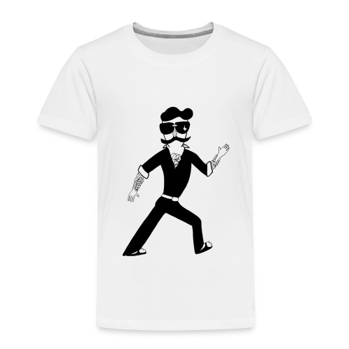 The Famous Mr Warrior - Toddler Premium T-Shirt