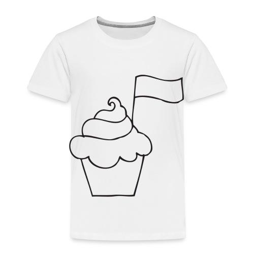 Cupcake Doo-Dats - Toddler Premium T-Shirt