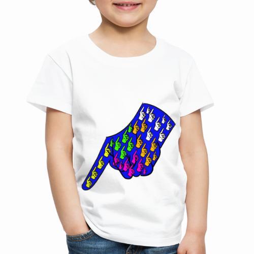 Finger - Toddler Premium T-Shirt