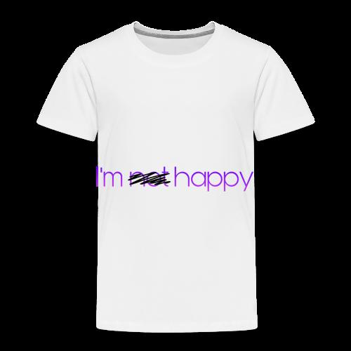 I'm happy - Toddler Premium T-Shirt