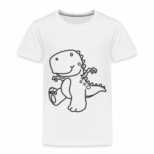 Cute Dinosaur - Toddler Premium T-Shirt