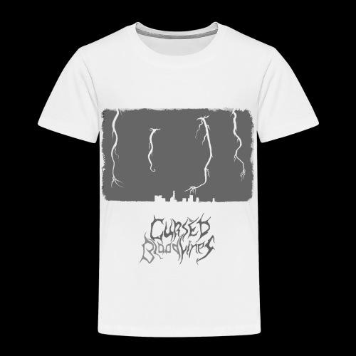 Cursed Bloodlines - City Destruction Logo - Toddler Premium T-Shirt
