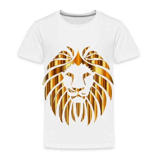 Gold Lion Design - Toddler Premium T-Shirt
