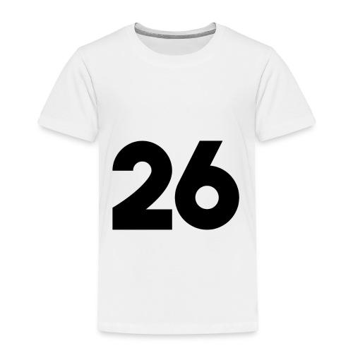 Main 26 logo - Toddler Premium T-Shirt