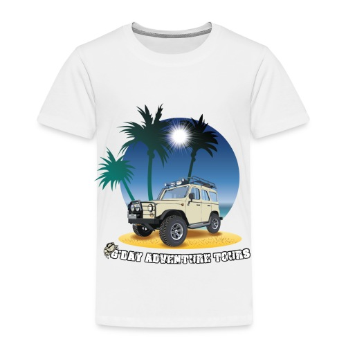 G'day Adventure Tours - Toddler Premium T-Shirt