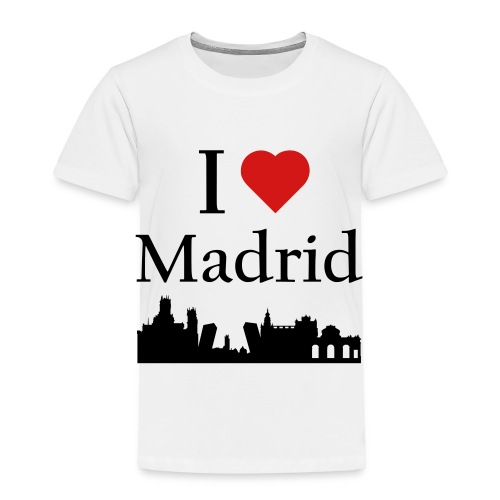 I Love Madrid - Toddler Premium T-Shirt