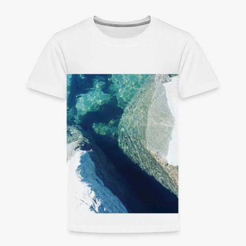Rock underwater in New Zealand - Toddler Premium T-Shirt