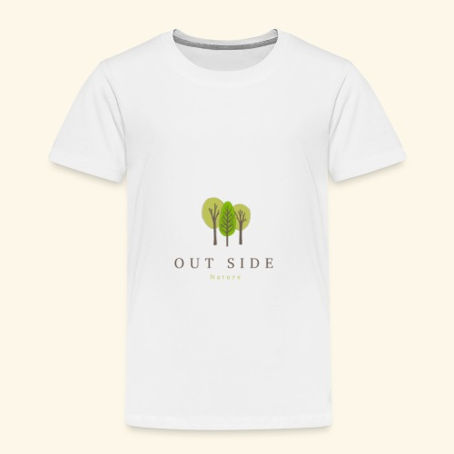 Out Side Nature - Toddler Premium T-Shirt