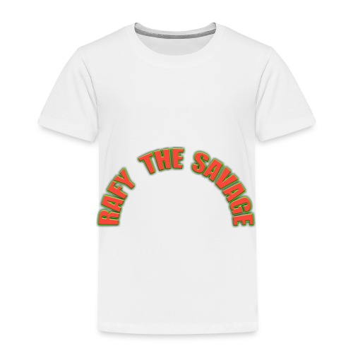 Rafy the savage - Toddler Premium T-Shirt