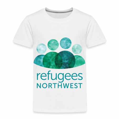 Refugees Northwest Logo Design - Toddler Premium T-Shirt