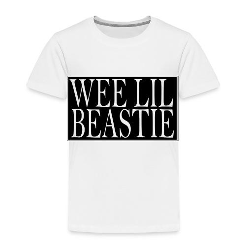 weelilbeastie - Toddler Premium T-Shirt