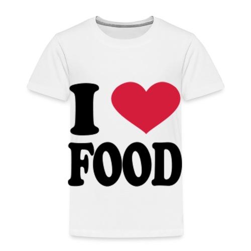 i love food - Toddler Premium T-Shirt