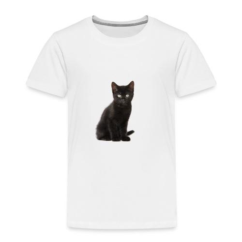 Black Cat - Toddler Premium T-Shirt