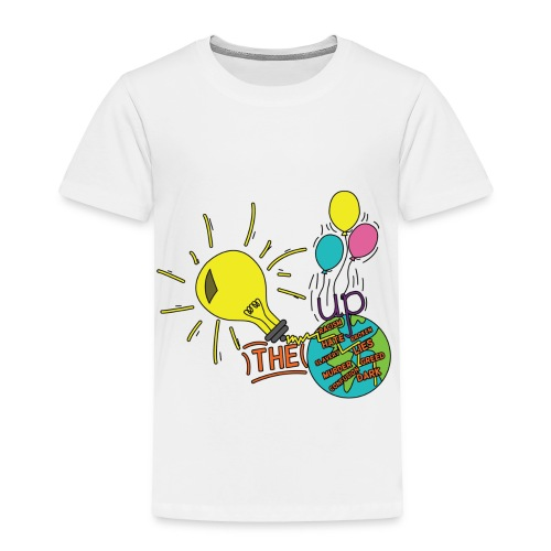 Light Up The World - Toddler Premium T-Shirt