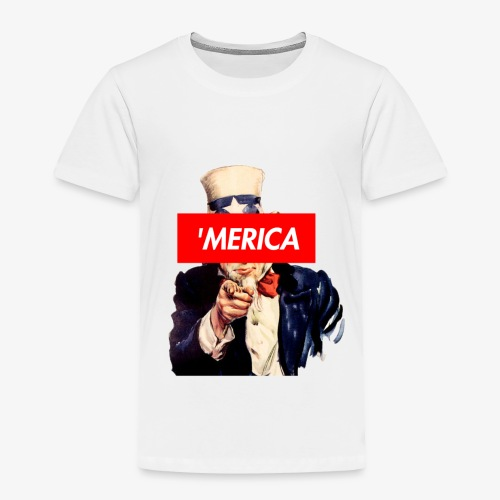 Uncle Sam Box Logo - Toddler Premium T-Shirt