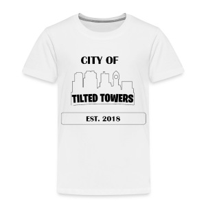 FORTNITE CITY OF TILTED TOWERS - Toddler Premium T-Shirt